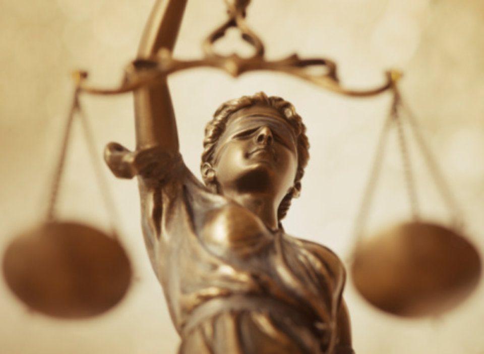 Balança da justiça.